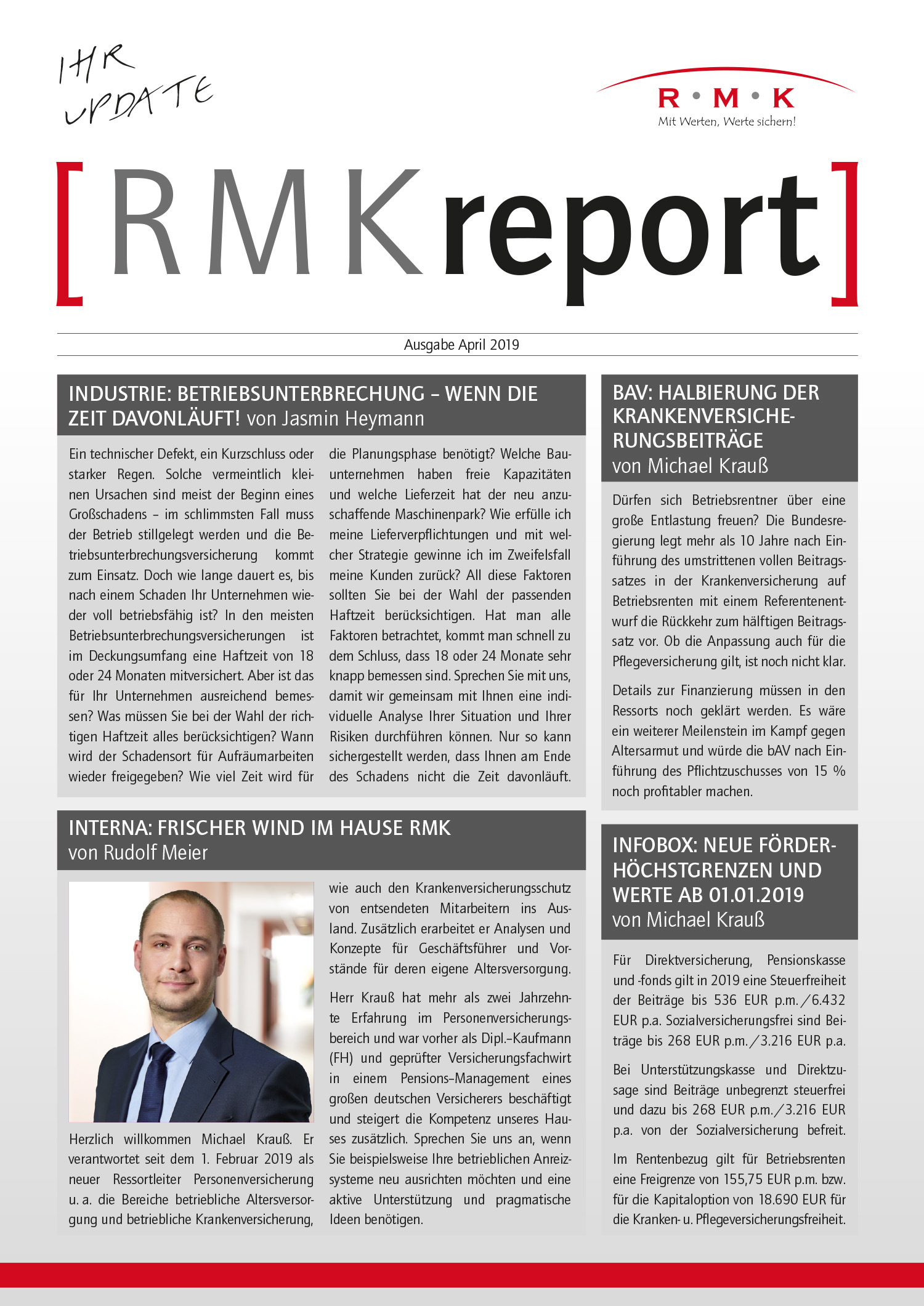 RMK-Report April 2019