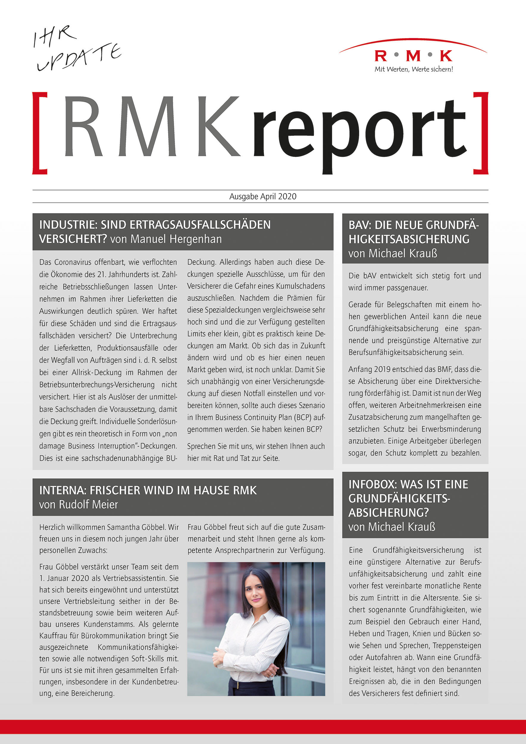 RMK Report April 2020
