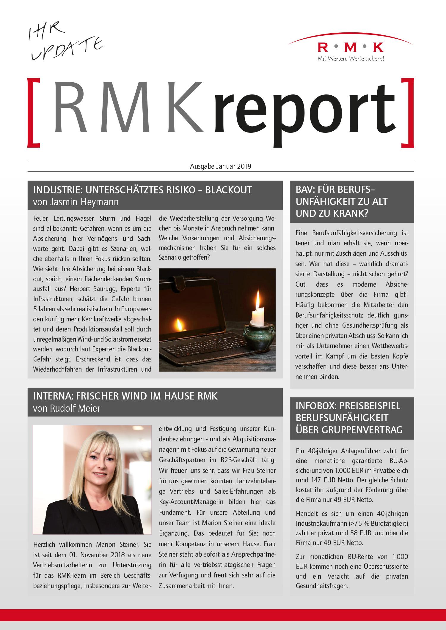 RMK-Report Januar 2019