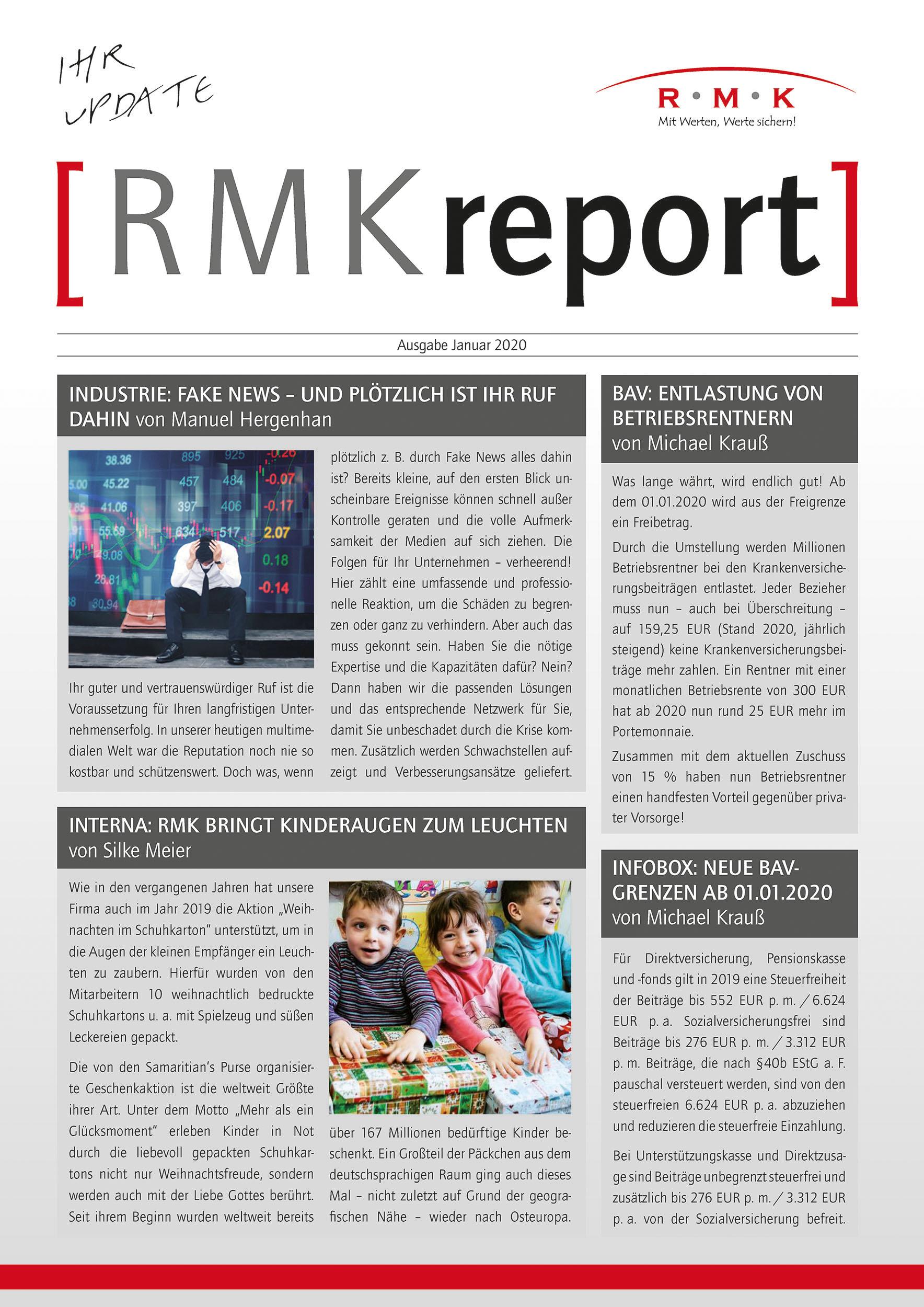 RMK Report Januar 2020